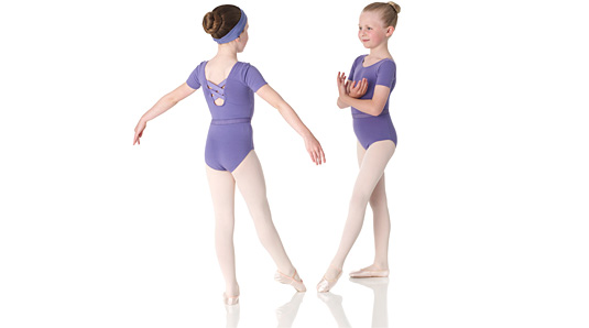 Ondine leotard in lavender