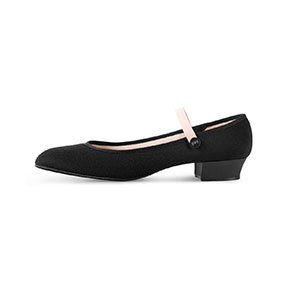 Bloch 'Accent' low heeled character shoe