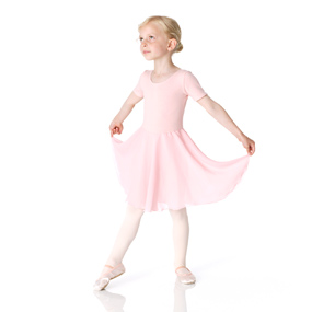 Clara pink skirted leotard