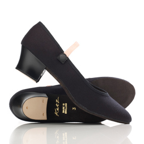 Bloch 'Tempo' Cuban heeled Character Shoe