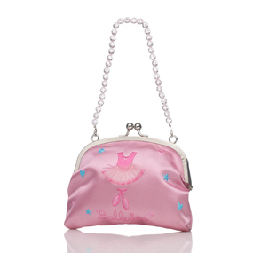 Satin mini handbag