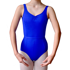 Elizabeth leotard in royal blue