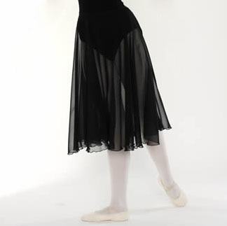RAD approved Black chiffon skirt