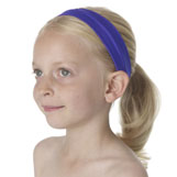 Purple lycra hairband